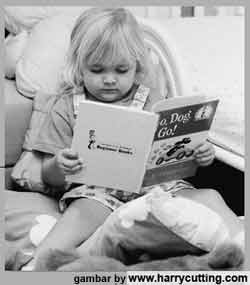 cara benar membaca buku