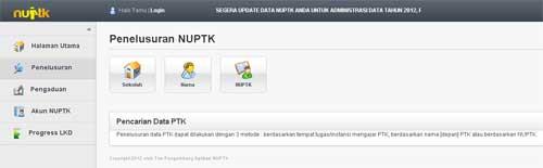 NUPTK Online kemdikbud