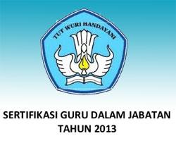 sertifikasi guru 2013